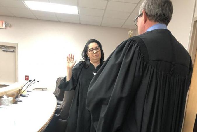 judge fluker swearing in dacula